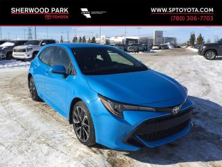 New 2019 Toyota Corolla Hatchback SE Upgrade for sale in Sherwood Park, AB