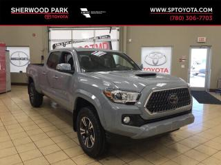 New 2019 Toyota Tacoma 4WD TRD Sport Upgrade for sale in Sherwood Park, AB
