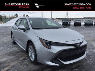 New 2019 Toyota Corolla Hatchback SE for sale in Sherwood Park, AB