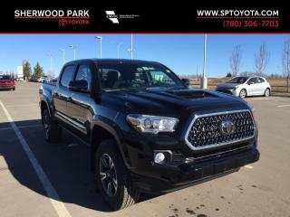 New 2019 Toyota Tacoma TRD Sport for sale in Sherwood Park, AB