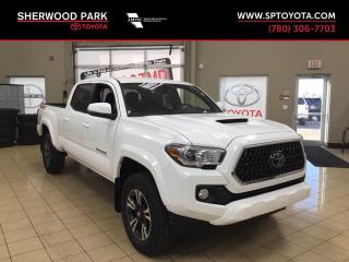 New 2019 Toyota Tacoma 4WD TRD Sport for sale in Sherwood Park, AB