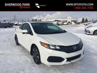 Used 2015 Honda Civic COUPE EX for sale in Sherwood Park, AB