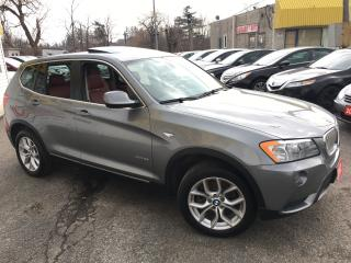 Used 2012 BMW X3 28i/ AWD/ SUNROOF/ LEATHER/  PWR GROUP & MORE! for sale in Scarborough, ON
