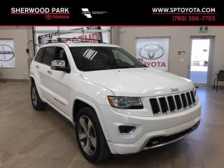 Used 2014 Jeep Grand Cherokee Overland for sale in Sherwood Park, AB