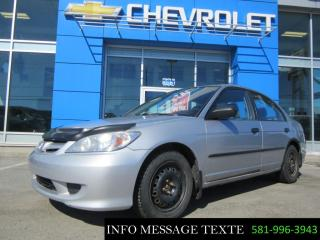 Used 2005 Honda Civic for sale in Ste-Marie, QC