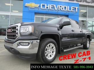 Used 2017 GMC Sierra 1500 Z71 4x4 Crew Cab for sale in Ste-Marie, QC
