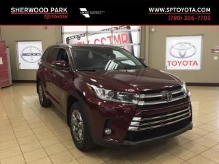 New 2018 Toyota Highlander LIMITED  for sale in Sherwood Park, AB