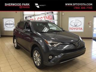 New 2018 Toyota RAV4 PLATINUM for sale in Sherwood Park, AB