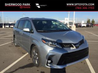 New 2019 Toyota Sienna SE AWD for sale in Sherwood Park, AB