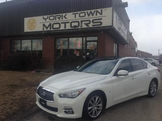 Used 2014 Infiniti Q50 Premium/Tech/DriverAssist/Nav/BackCam/RustModule for sale in North York, ON