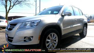 Used 2009 Volkswagen Tiguan Trendline|AWD|ALLOYS|NO ACCIDENT|SUNROOF|CERTIFIED for sale in Oakville, ON