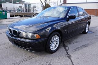 Used 2001 BMW 5 Series 530i - AS-IS SPECIAL - LOCAL/ CLEAN BMW for sale in Etobicoke, ON