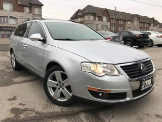 Used 2008 Volkswagen Passat Comfortline|Wagon|One Owner|Leather|Sunroof for sale in Burlington, ON