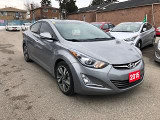 Used 2015 Hyundai Elantra Limited for sale in Toronto, ON