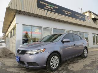 Used 2010 Kia Forte AUTOMATIC,ALL POWERED,A/C,CERTIFIED,BLUETOOTH for sale in Mississauga, ON