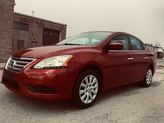 Used 2013 Nissan Sentra S for sale in Mississauga, ON