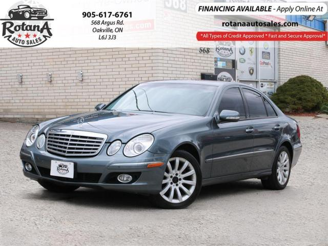 2008 Mercedes-Benz E-Class 3.0L/LEATHER/SUNROOF/LOW KM'S