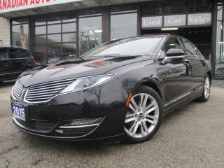 Used 2015 Lincoln MKZ Hybrid-NAVIGATION-PANO-ROOF-LTHER-CAMERA for sale in Scarborough, ON