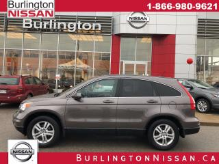 Used 2011 Honda CR-V EX-L, ACCIDENT FREE, 1 OWNER, LOW LOW KM'S ! for sale in Burlington, ON