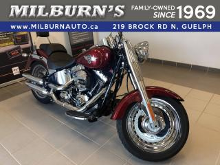 Used 2017 Harley-Davidson FAT BOY 103 for sale in Guelph, ON