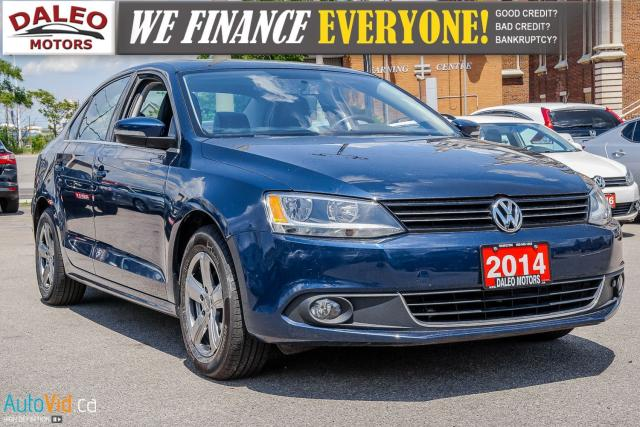 2014 Volkswagen Jetta HIGHLINE / 2.0 TDI / NAV / LEATHER / MOONROOF +++