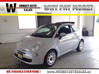 Used 2016 Fiat 500 C POP|BLUETOOTH|CONVERTIBLE| 45,665 KMS for sale in Cambridge, ON