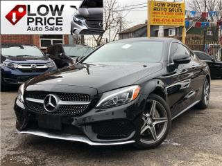 Used 2017 Mercedes-Benz C-Class Coupe*AWD*Navi*BlindSpot*Camera*MBWarranty* for sale in Toronto, ON