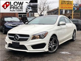 Used 2016 Mercedes-Benz CLA-Class CLA250*AMGPkg*Navi*Panoramic*BlindSpot*FullLoad* for sale in Toronto, ON