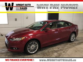 Used 2015 Ford Fusion SE|LEATHER|SUNROOF|BACKUP CAMERA|87,215 KM for sale in Cambridge, ON
