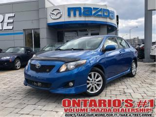Used 2009 Toyota Corolla S-SUNROOF, ONE OWNER!!! for sale in Toronto, ON