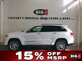 New 2019 Jeep Grand Cherokee Summit 4x4 for sale in Calgary, AB