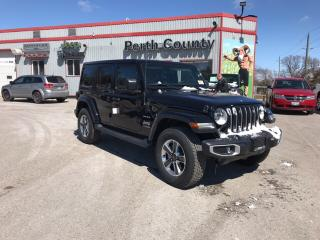 New 2019 Jeep Wrangler Unlimited Sahara | Dual Top | Leather | Heated Sea for sale in Mitchell, ON