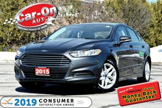 Used 2015 Ford Fusion SE 2.5L REAR CAM FULL PWR GRP SYNC ALLOYS for sale in Ottawa, ON