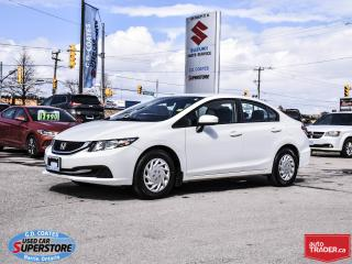 Used 2014 Honda Civic LX ~Heated Seats ~Bluetooth for sale in Barrie, ON