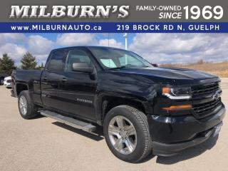 Used 2016 Chevrolet Silverado 1500 Custom 4X4 for sale in Guelph, ON
