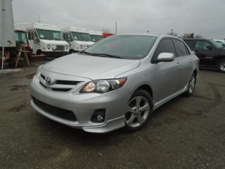 Used 2012 Toyota Corolla S for sale in Mississauga, ON