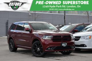 Used 2017 Dodge Durango GT - One Owner, Gold Plan Warranty, Rear DVD for sale in London, ON
