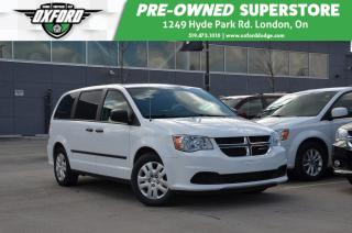 Used 2016 Dodge Grand Caravan CVP -  7 passenger, Cruise Control for sale in London, ON