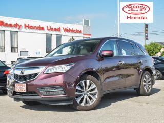 Used 2015 Acura MDX Tech Pkg - Navigation - DVD - Leather for sale in Mississauga, ON