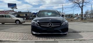 Used 2016 Mercedes-Benz C-Class CLEAN CARPROOF, WHITE INTERIOR, PANO ROOF, HEATED SEATS for sale in North York, ON