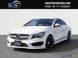 Used 2015 Mercedes-Benz CLA-Class CLA250 4MATIC AMG PKG -NAVI-BLINDSPOT-BACKUP CAMERA for sale in North York, ON