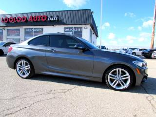 Used 2016 BMW 2-Series 228i xDrive M SPORTS PACKAGE COUPE NAVI CAMERA CERTIFIED for sale in Milton, ON