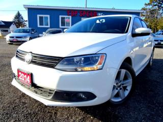 Used 2014 Volkswagen Jetta TDI Comfortline Sunroof Bluetooth Certified for sale in Guelph, ON