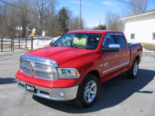 Used 2017 RAM 1500 LARAMIE CREW CAB 4X4 LEATHER NAV ROOF for sale in Smiths Falls, ON