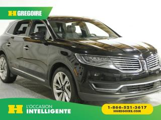 Used 2017 Lincoln MKX RESERVE AWD AC GR for sale in St-Léonard, QC