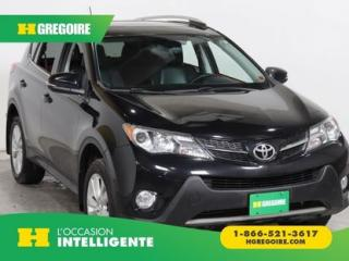Used 2013 Toyota RAV4 Ltd Awd Cuir for sale in St-Léonard, QC