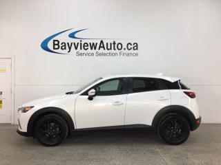 Used 2016 Mazda CX-3 GS - AWD! LTHR! SUNROOF! for sale in Belleville, ON
