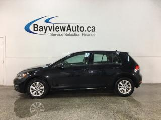 Used 2018 Volkswagen Golf 1.8 TSI Comfortline - AUTO! REVERSE CAM! APPLE CARPLAY! ANDROID AUTO! + MORE! for sale in Belleville, ON
