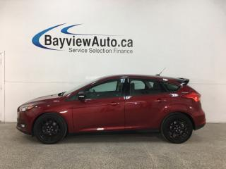 Used 2016 Ford Focus SE - AUTO! A/C! BLK ALLOYS! PWR GROUP! for sale in Belleville, ON