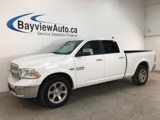 Used 2018 RAM 1500 Laramie - 4X4 HEMI! 8SPD AUTO! LTHR! SUNROOF! for sale in Belleville, ON